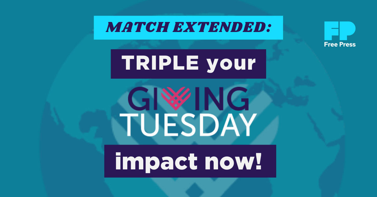 MATCH EXTENDED: Triple your #GivingTuesday impact now!