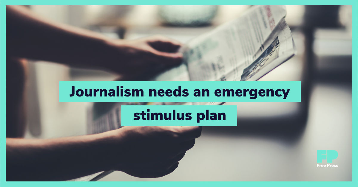 Tell Congress to Create an Emergency Journalism-Stimulus Fund