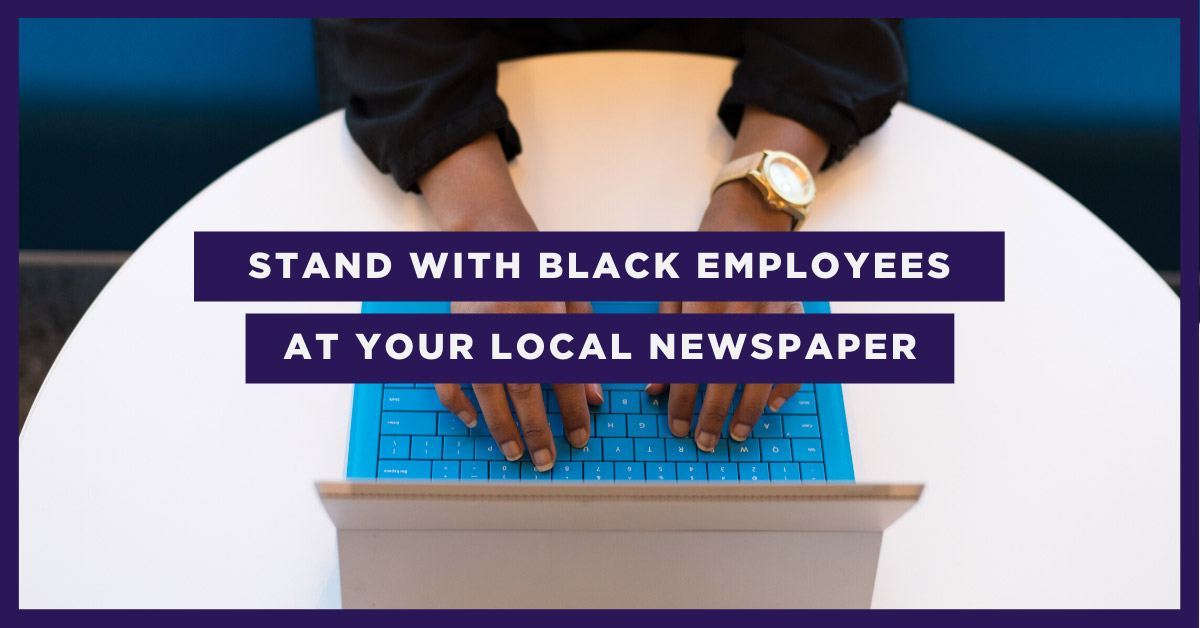 Stand with Black Employees in Your Community