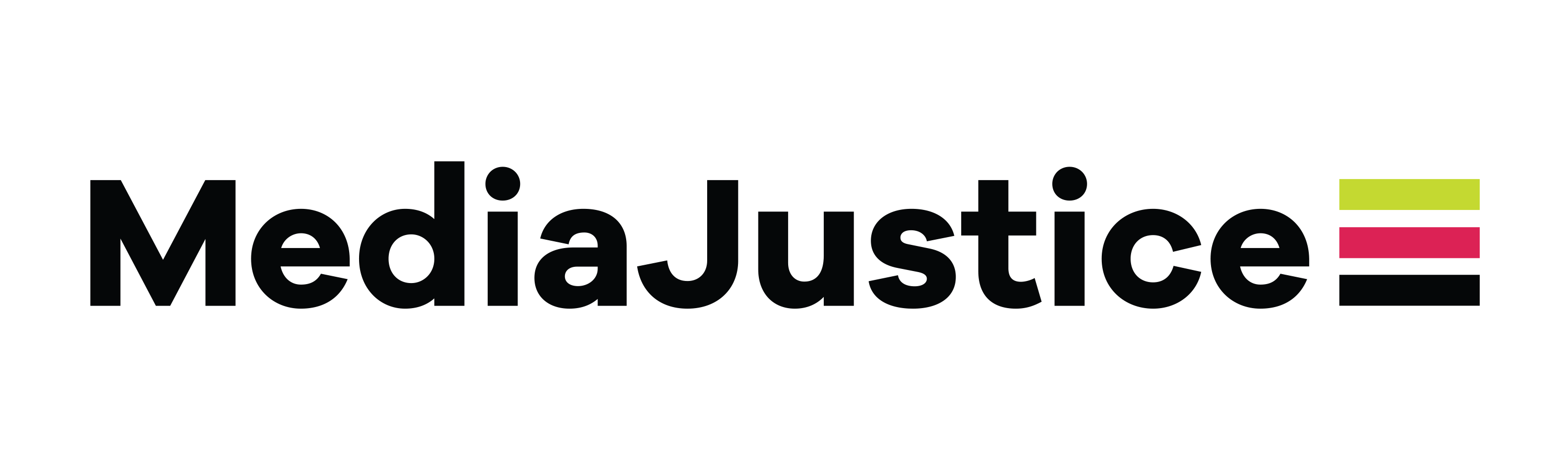 Logo for MediaJustice