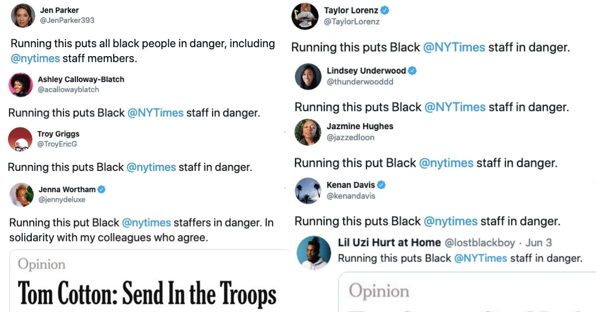 Stand with Black journalists and Black employees at the New York Times.